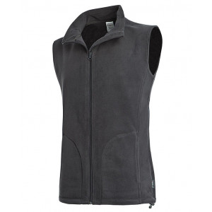 Vesta STEDMAN ACTIVE FLEECE VEST MEN sivá XXL