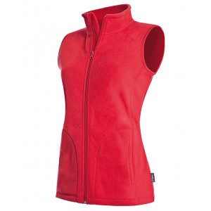 Vesta STEDMAN ACTIVE FLEECE VEST WOMEN červená S