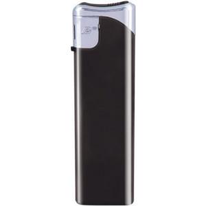VLADO plastový piezoelektrický zapaľovač, čierna