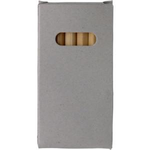 VÝKRES sada 6 drevených pasteliek,papierová krabička