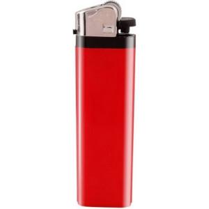 ZIP plastový kamienkový zapaľovač, červená