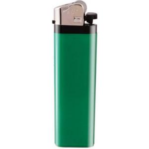ZIP plastový kamienkový zapaľovač, zelená