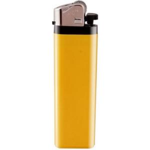 ZIP plastový kamienkový zapaľovač, žltá